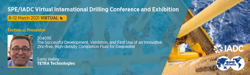 SPEIADC Virtual International Drilling Conference and Exhibition