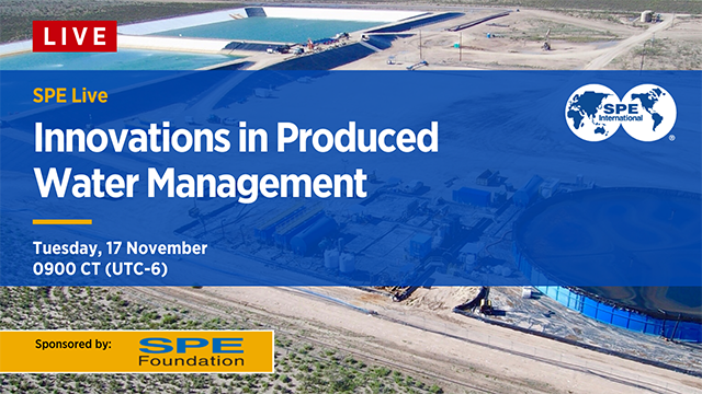 Webinar: SPE Live Produced Water