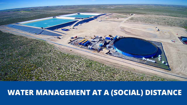Webinar: Water Mgmt at Social Distance